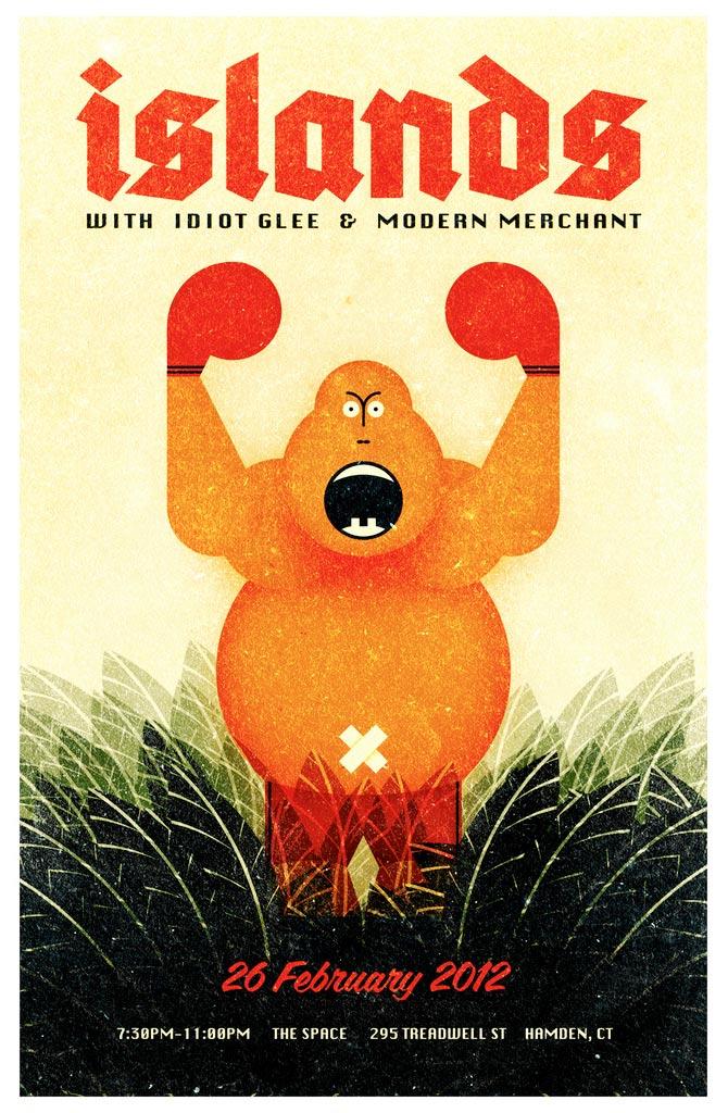 Islands & Modern Merchant poster.