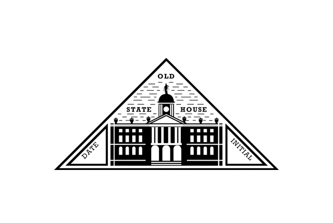 Old State House passport stamp.