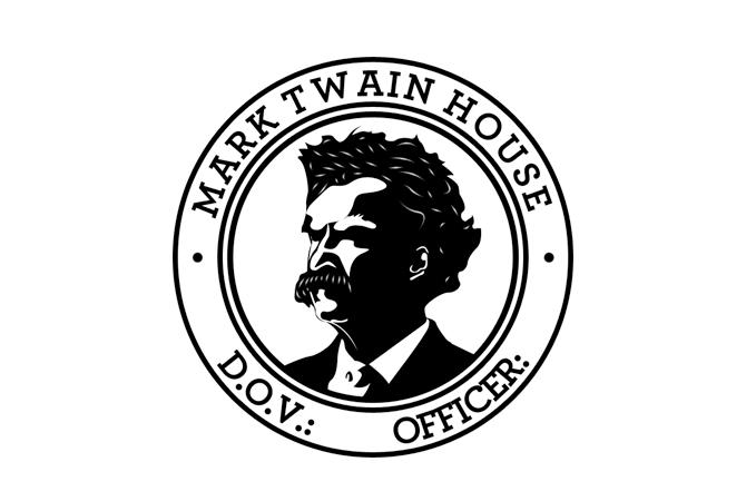 Mark Twain House passport stamp.