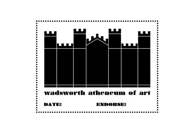 Wadsworth Atheneum Museum of Art passport stamp.