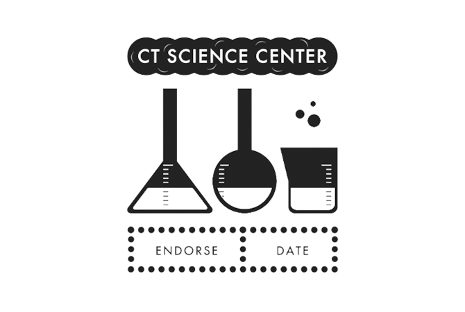 CT Science Center passport stamp.