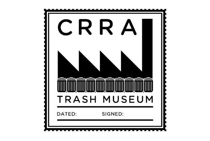 CRRA Trash Museum passport stamp.