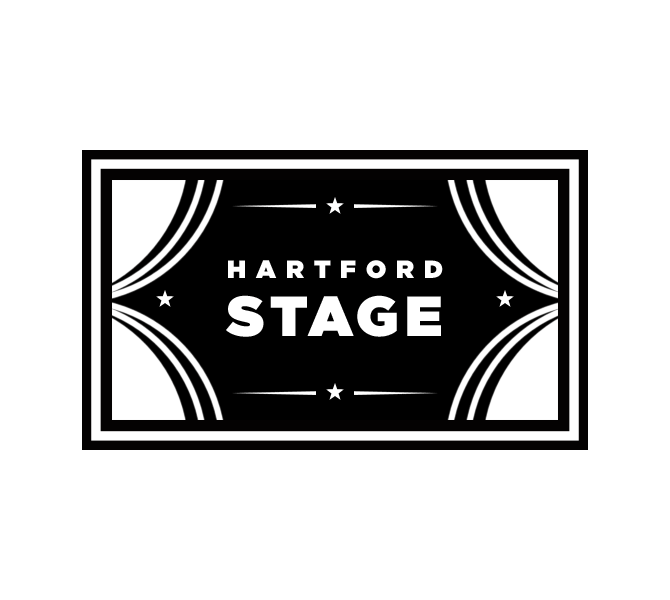 Hartford Stage Company stamp.