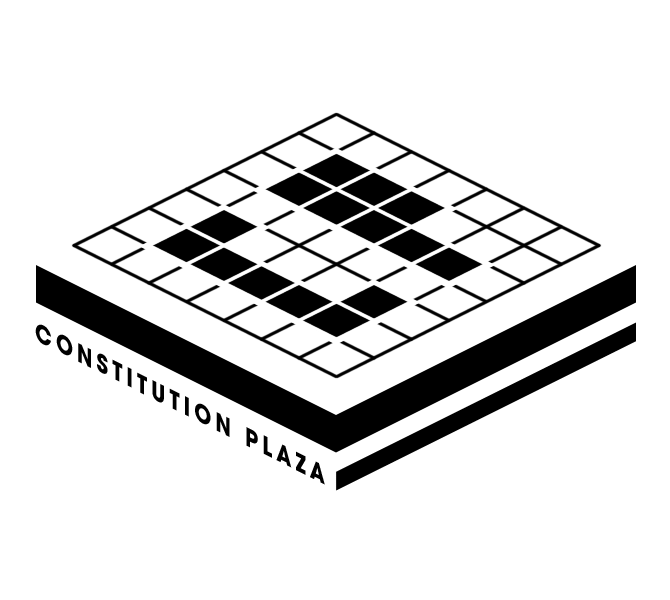 Constitution Plaza stamp.