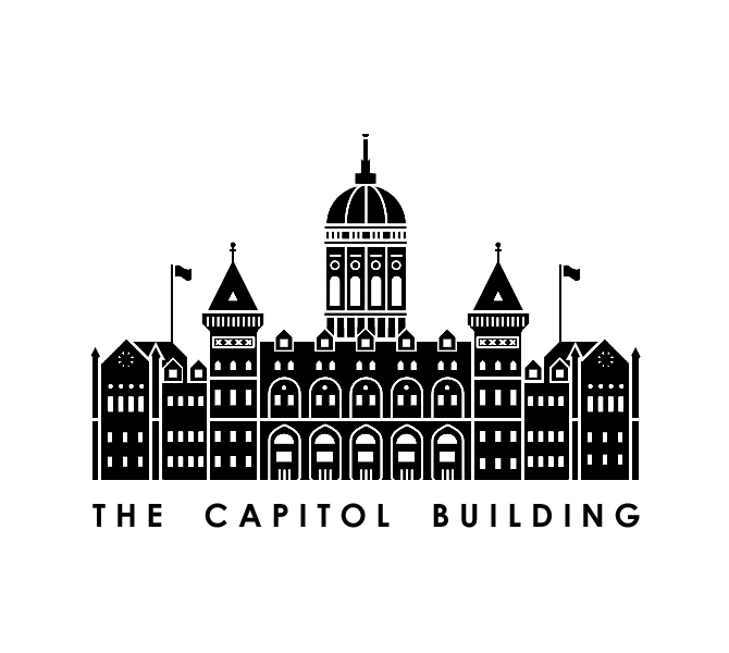 Capitol Building stamp.
