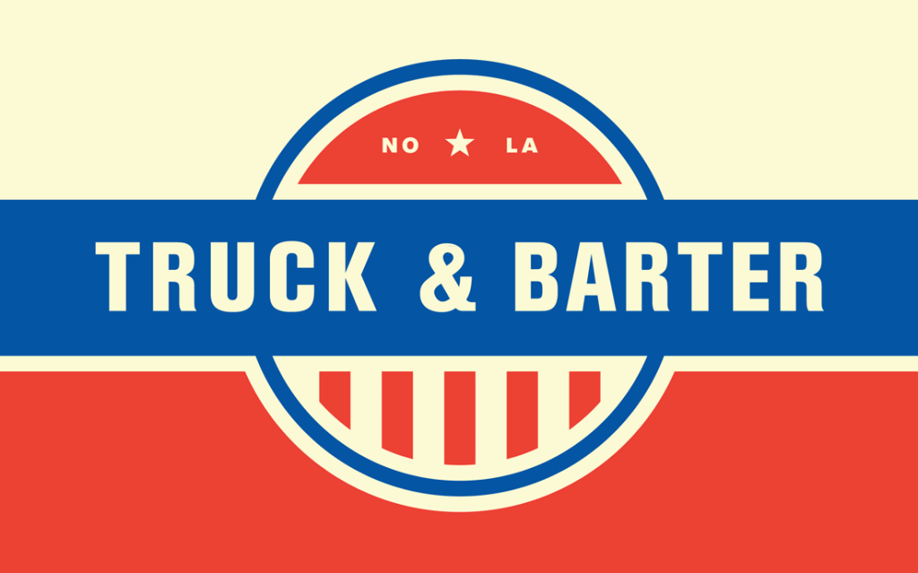 Truck & Barter Farms logo.