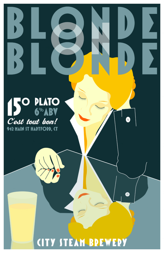 City Steam Brewery - Blonde on Blonde
